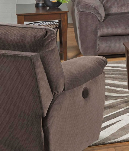 Nichols Power Lay Flat Recliner - Granite