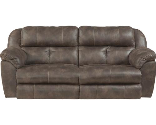 Ferrington Power Headrest Power Lay Flat Reclining Sofa - Dusk