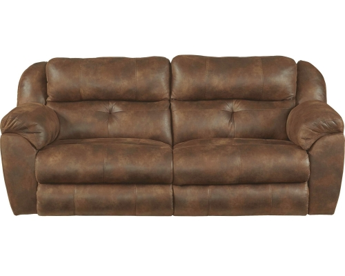 Ferrington Power Headrest Power Lay Flat Reclining Sofa - Sunset
