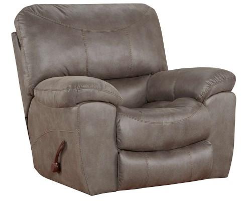 Trent Rocker Recliner Chair - Charcoal
