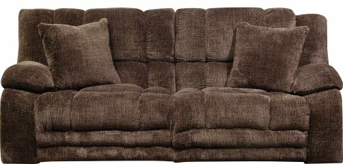 Branson Reclining Sofa - Chocolate