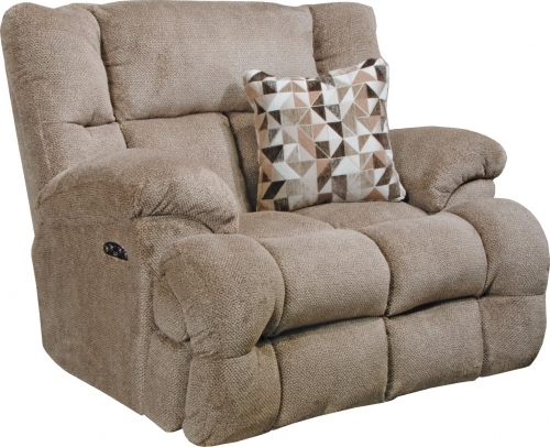 Brice Power Lay Flat Recliner with Power Headrest - Chateau