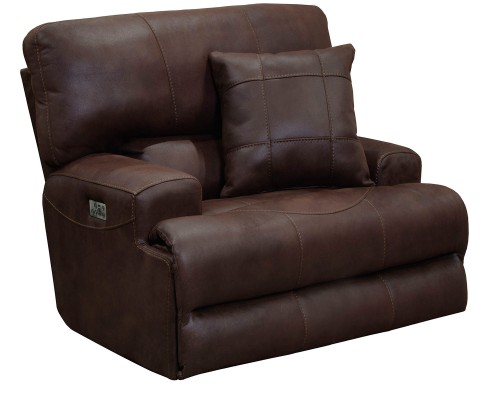 Monaco Recliner Chair - Dark Chocolate