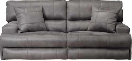 Monaco Reclining Sofa - Charcoal