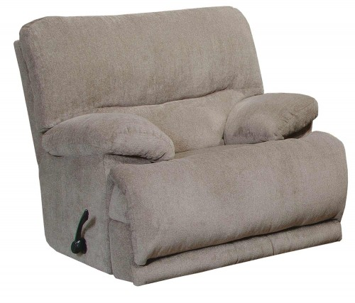 Jules Chaise Rocker Recliner Chair - Pewter