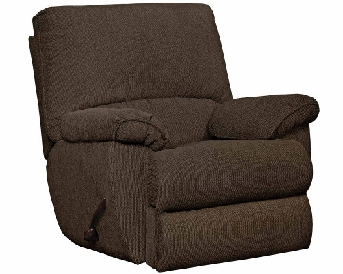 Elliot Glider Recliner Chair - Chocolate