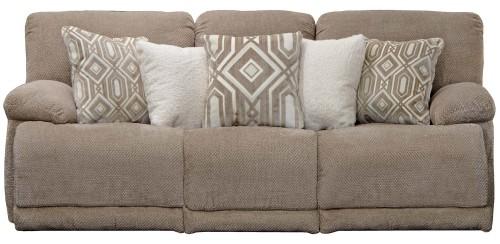 Montego Reclining Sofa - Linen
