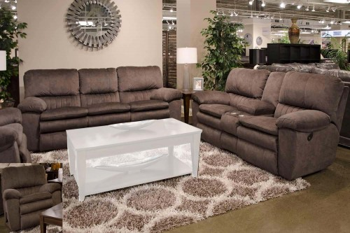Reyes Reclining Sofa Set - Chocolate