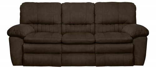 Reyes Reclining Sofa - Chocolate