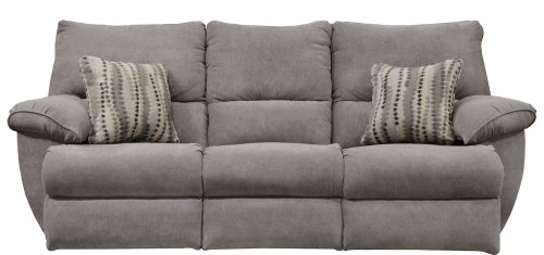 Sadler Reclining Sofa - Mica