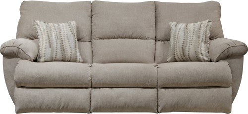 Sadler Reclining Sofa - Jute