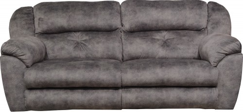 Carrington Reclining Sofa - Greystone