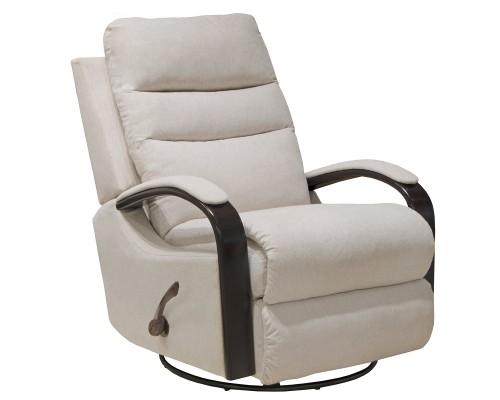 Jansen Swivel Glider Recliner Chair - Shell