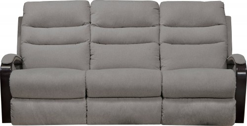 Jansen Reclining Sofa - Pebble