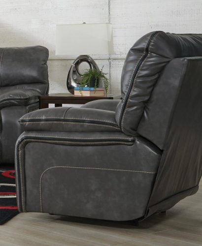 Camden Rocker Recliner - Steel