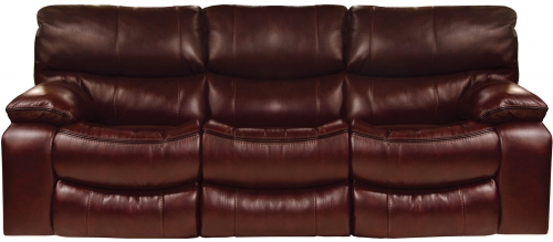 Camden Power Lay Flat Reclining Sofa - Walnut