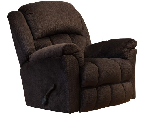 Bingham Rocker Recliner Chair - Chocolate