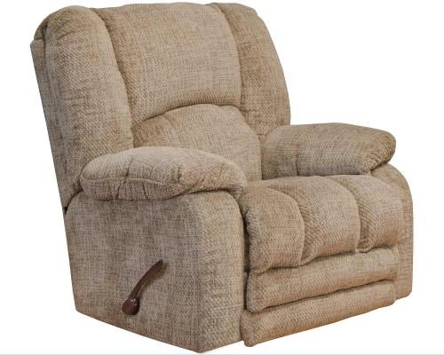 Hardin Rocker Recliner Chair - Camel