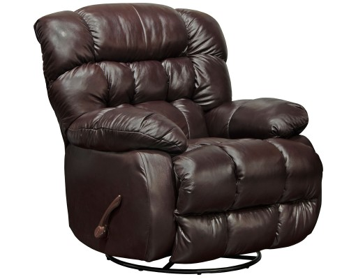 Pendleton Leather Recliner Chair - Chocolate