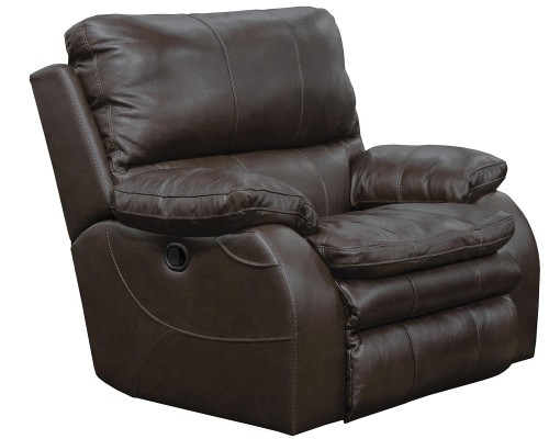 Verona Power Headrest Power Recliner Chair - Chocolate