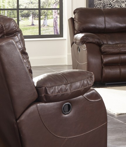 Verona Power Headrest Power Recliner Chair - Walnut