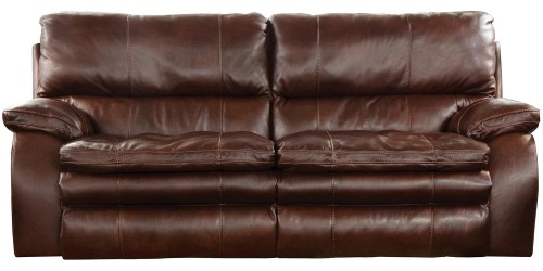 Verona Power Headrest Power Lumbar Power Reclining Sofa - Walnut