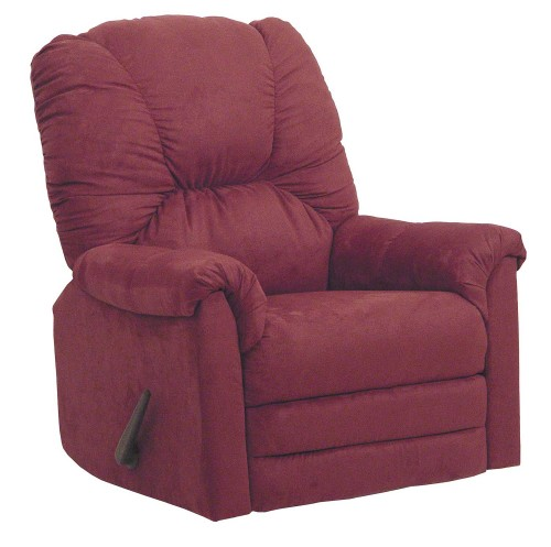 Winner Rocker Recliner Chair - Sangria