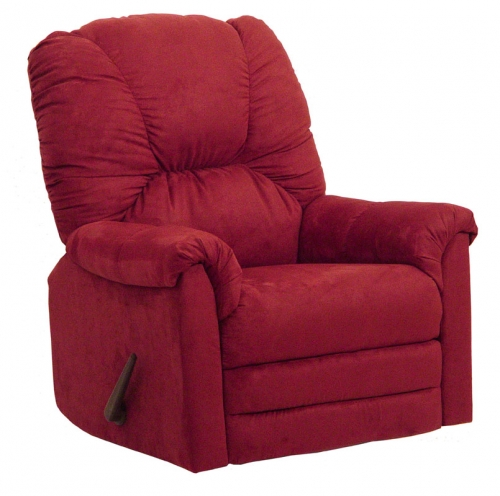 CatNapper Winner Rocker Recliner - Sangria