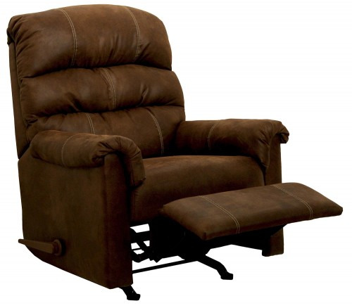 Capri Rocker Recliner Chair - Chocolate