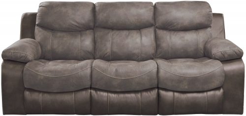 Henderson Reclining Sofa With Drop Down Table - Dusk