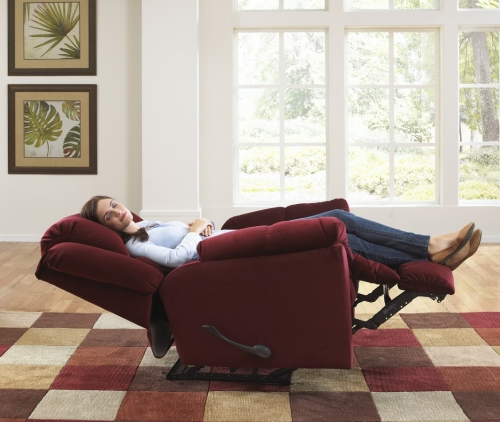 Gibson Lay-Flat Recliner - Berry