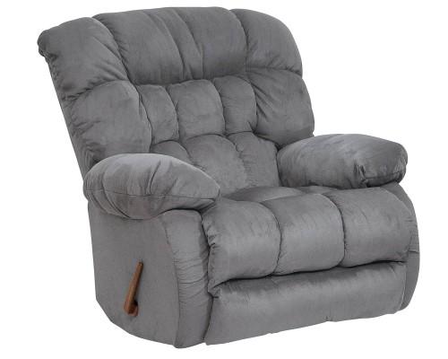 Teddy Bear Rocker Recliner Chair - Graphite