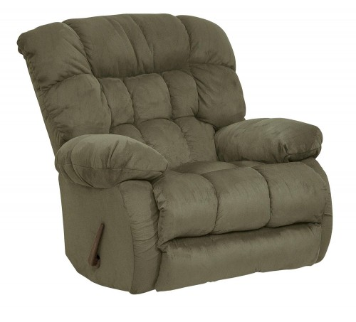 Teddy Bear Rocker Recliner Chair - Sage