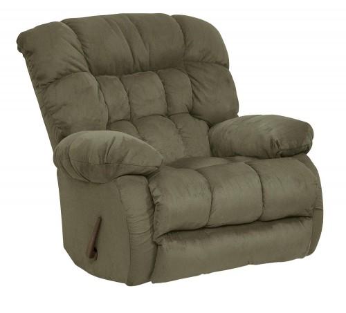 Teddy Bear Rocker Recliner Chair - Sage
