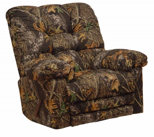 Magnum Camo Rocker Recliner Chair - Mossy Oak