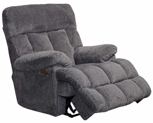 Manley Power Recliner Chair - Pewter