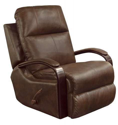 Gianni Glider Recliner Chair - Cocoa