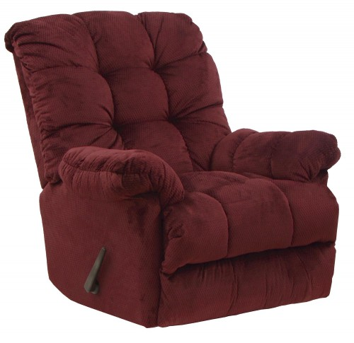 Nettles Rocker Recliner Chair - Merlot