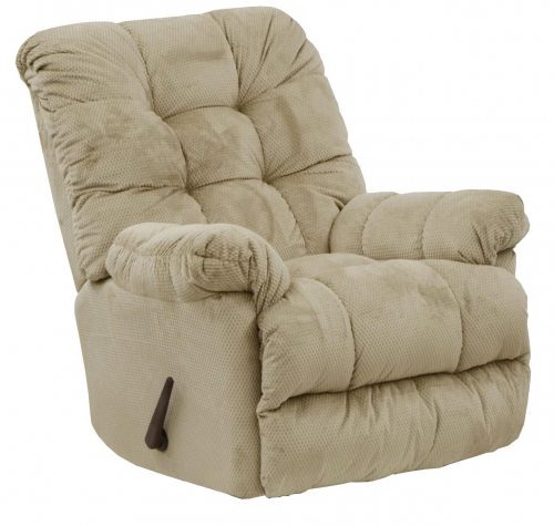 Nettles Chaise Rocker Recliner with Deluxe Heat and Massage - Doe