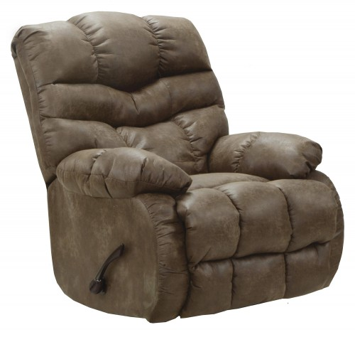 Berman Rocker Recliner Chair - Silt