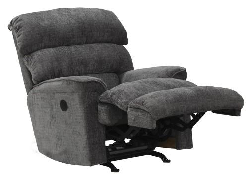 Pearson Rocker Recliner Chair - Charcoal