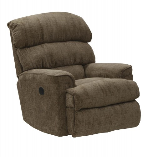 Pearson Rocker Recliner Chair - Coffee