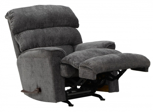 Pearson Chaise Rocker Recliner - Charcoal