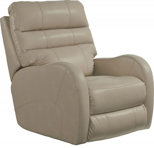 Searcy Rocker Recliner Chair - Parchment