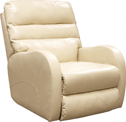 Searcy Power Wall Hugger Recliner with USB Port - Parchment