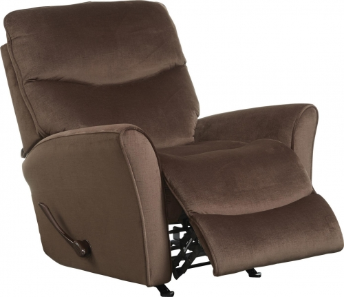 Evan Rocker Recliner - Chocolate
