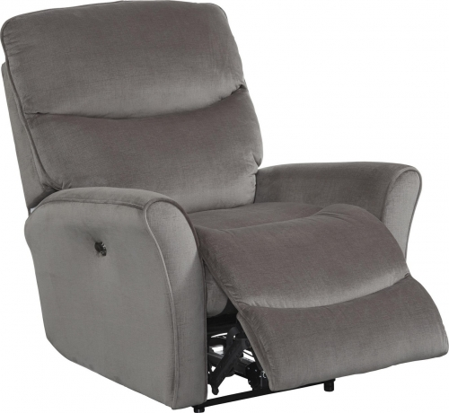 Evan Rocker Recliner - Pewter