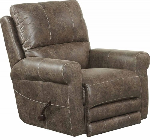 Maddie Swivel Glider Recliner Chair - Ash