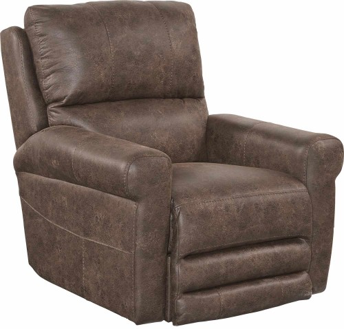 Maddie Swivel Glider Recliner Chair - Tanner