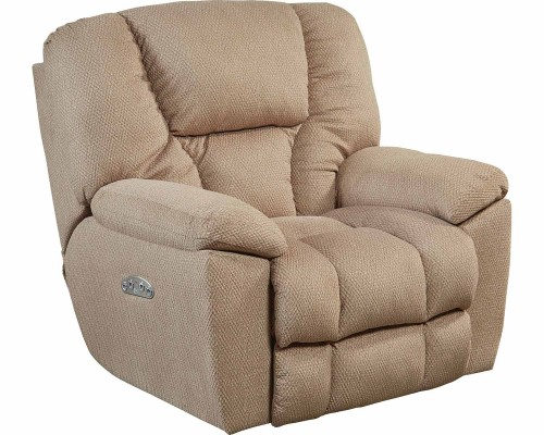 Owens Power Headrest Power Recliner Chair - Doe